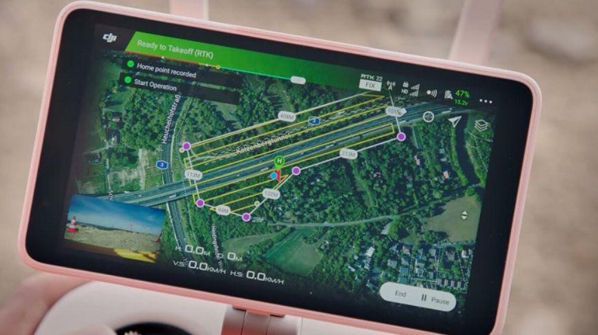 Aplikasi Drone untuk Pemetaan Terbaik
