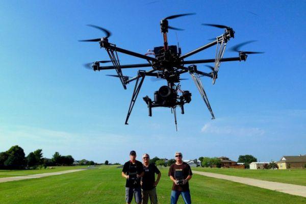Cara Mengambil Foto dengan Drone