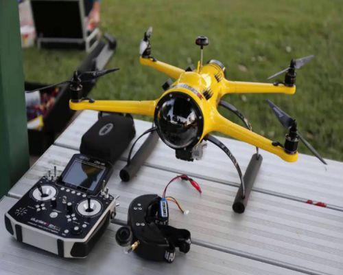 Drone Anti Air quad