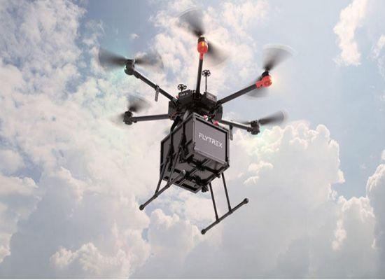 Drone Dalam Industri 4.0 delivery