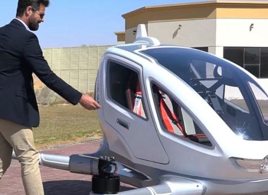 Drone Dalam Industri 4.0 taxi
