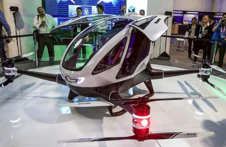 Drone Termahal di Dunia Ehang 184