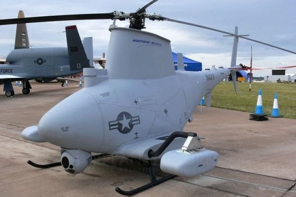 Jenis Drone Militer MQ-8B Fire Scout