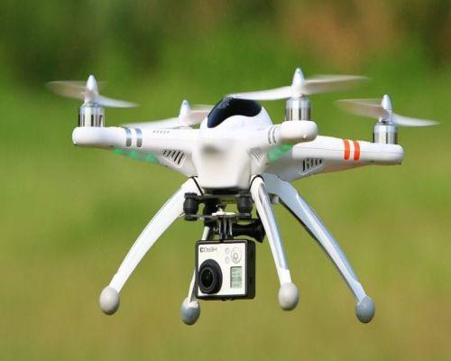 Jenis Drone dan Fungsinya Quadcopter