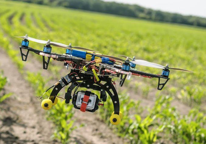 Manfaat Drone untuk Pertanian analisa kebun