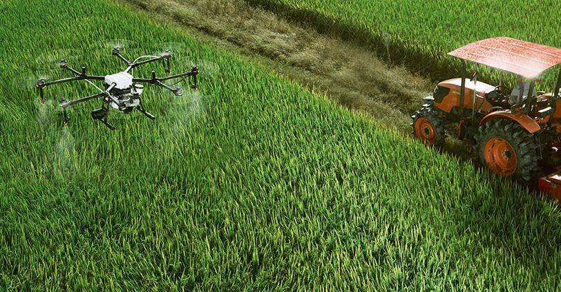Manfaat Drone untuk Pertanian penyemprotan