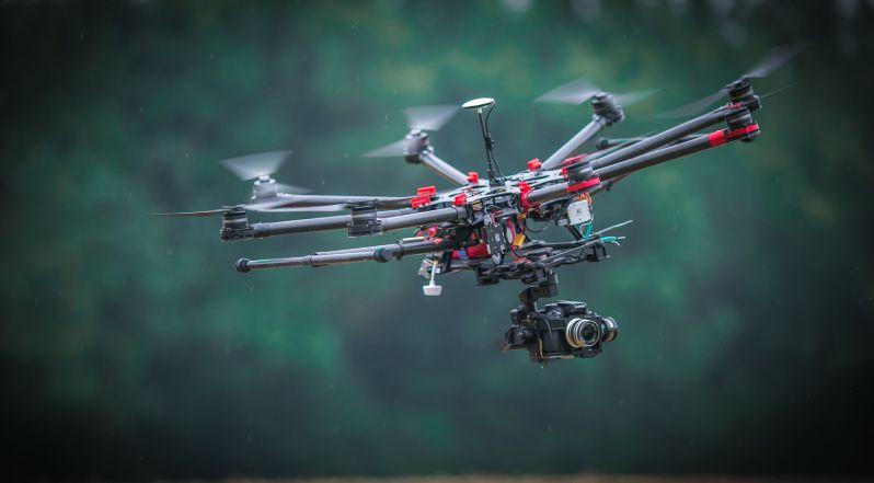 Manfaat Drone untuk Pertanian sensor irigasi