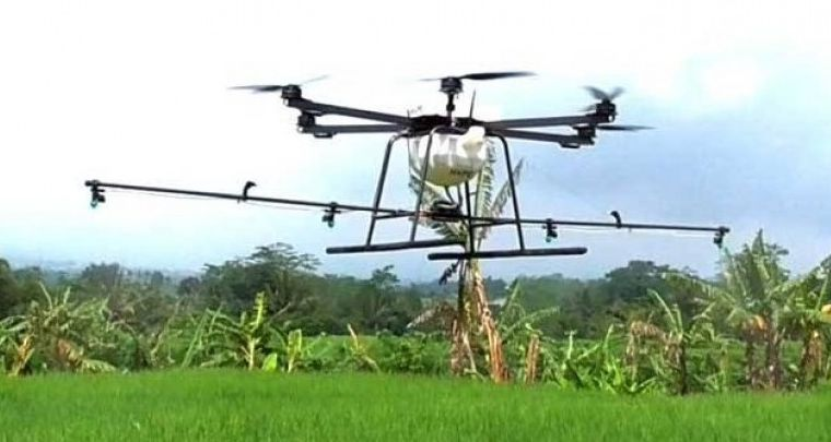 Manfaat Drone untuk Pertanian