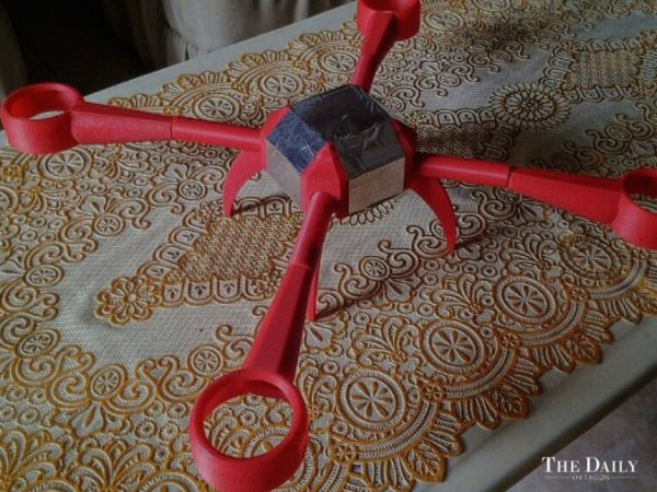 drone buatan indonesia Bladeless Drone bladdes