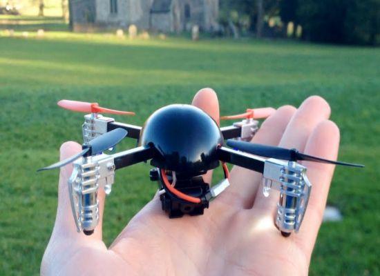drone terkecil di dunia Micro Drone 2.0