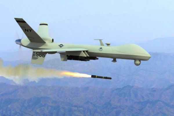 jenis drone militer General Atomics MQ-9 Reaper