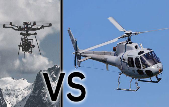 Alasan Drone Tidak Akan Menggantikan Helicopter