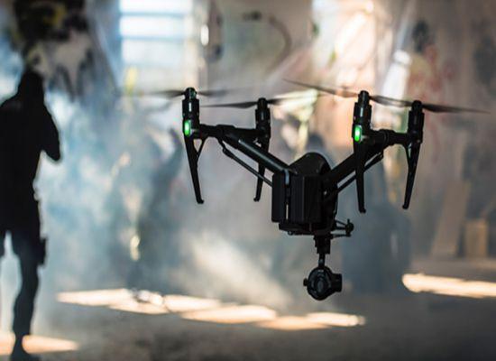 Drone Profesional Terbaik DJI Inspire 2