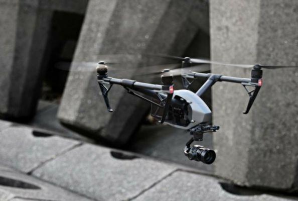 Drone untuk Fotografer DJI Inspire 2