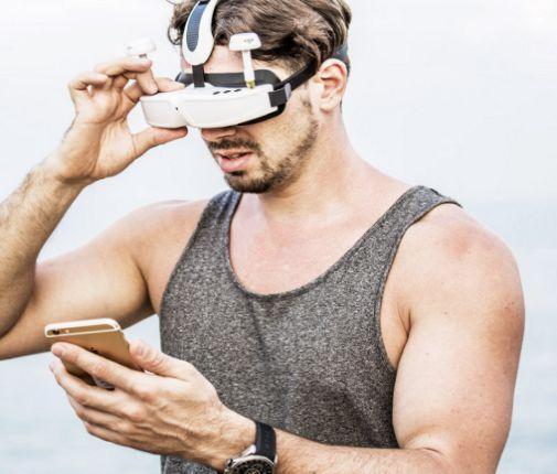 Kacamata VR untuk Drone