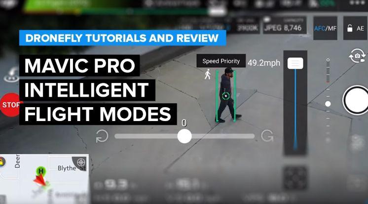 Kelebihan Drone DJI Mavic Pro fligt mode