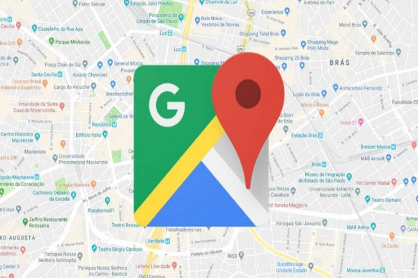 Tips Traveling dengan Drone google map