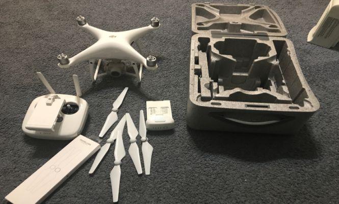 Aksesoris Drone DJI Phantom 4 Pro baling-baling