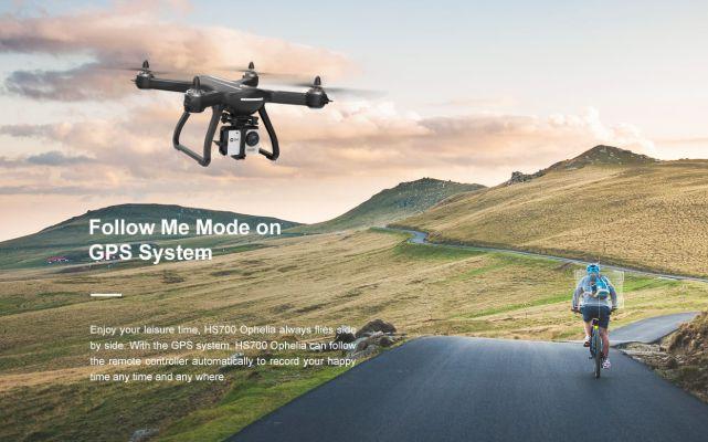 Drone Follow Me Terbaik HS700