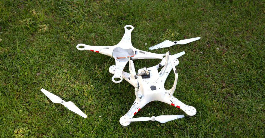 Cara Dasar Memperbaiki Drone crash