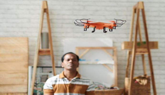 Tips Aman Bermain Micro Drone ruangan