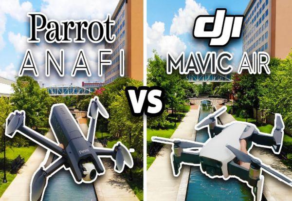 Kelebihan Parrot Anafi dibanding Mavic Air terbaru